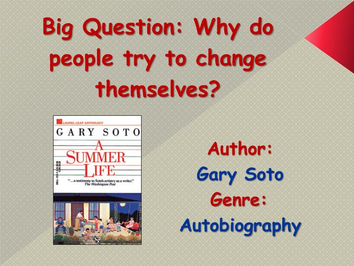 author gary soto genre autobiography n.