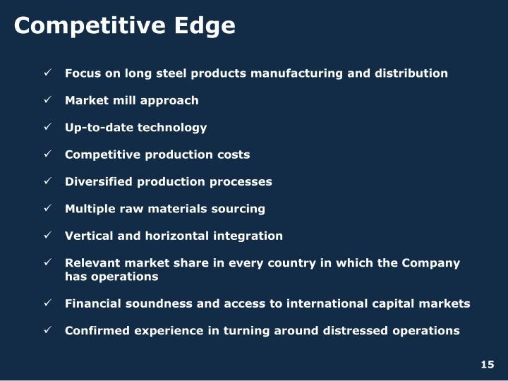 Competitive Edge