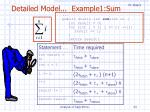 detailed model example1 sum