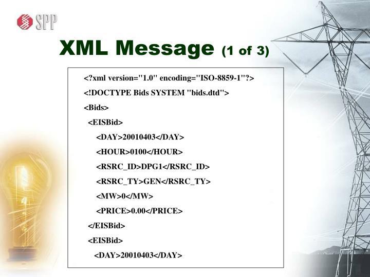 XML Message