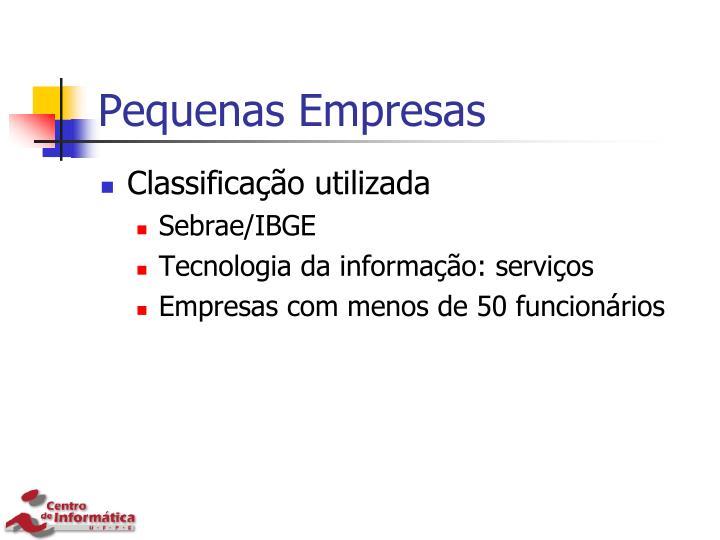 Pequenas Empresas