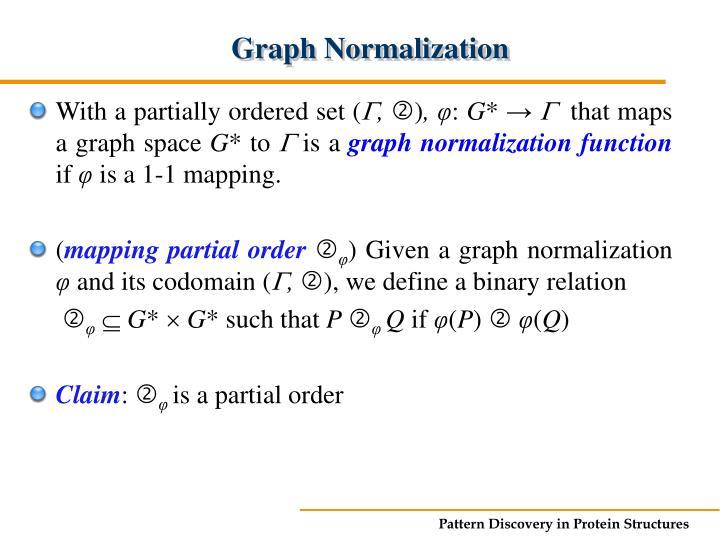 Graph Normalization