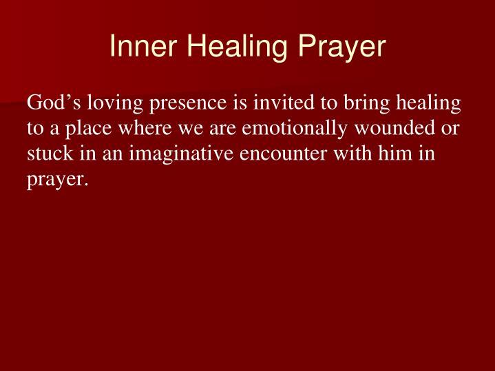 Inner healing prayer