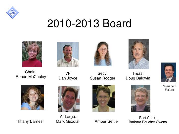 2010-2013 Board