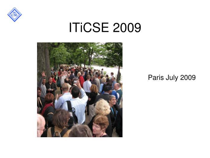 ITiCSE 2009
