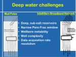 deep water challenges