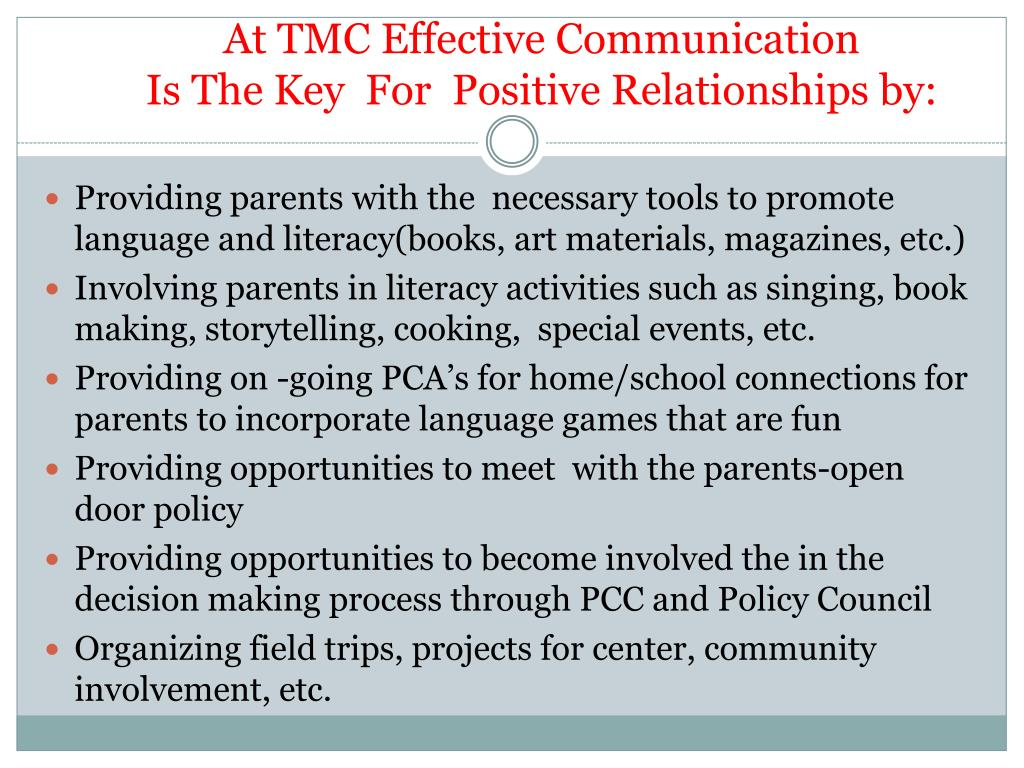 PPT - Effective Communication with Children and Families