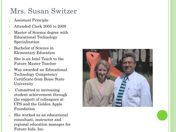 Mrs. Susan Switzer