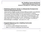 4 enabling community school zwischenbemerkung zur rolle von schule im konzept des community living