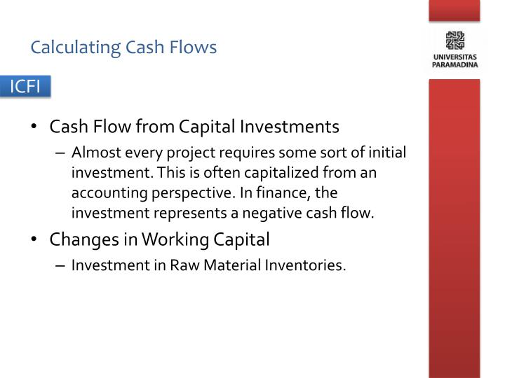 Calculating Cash Flows