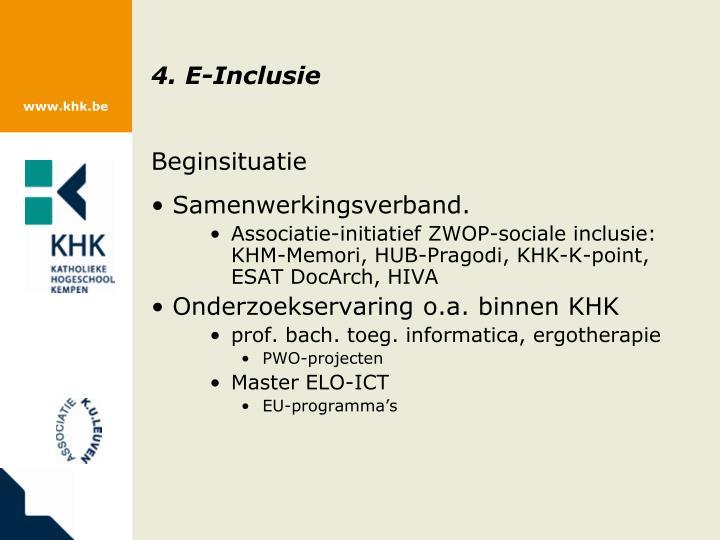 4. E-Inclusie