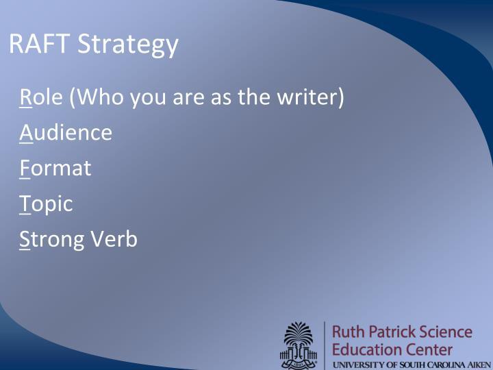 RAFT Strategy