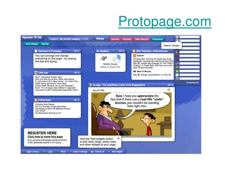 Protopage.com