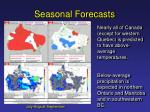 seasonal forecasts2