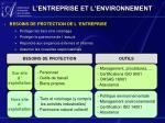 l entreprise et l environnement1