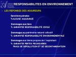 responsabilites en environnement1