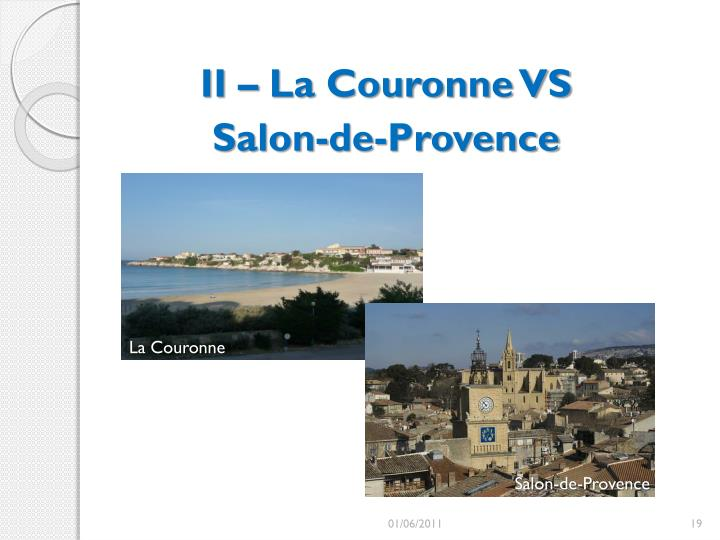 II – La Couronne VS