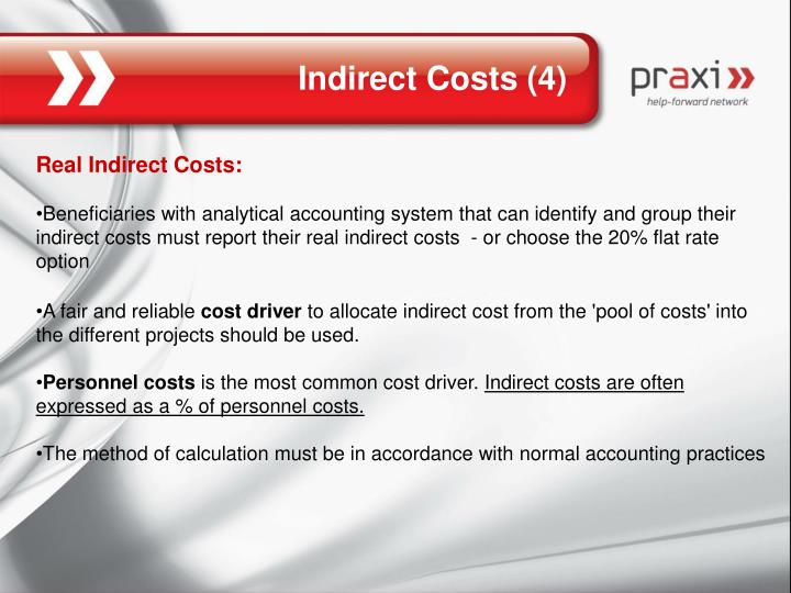 Indirect Costs (4)