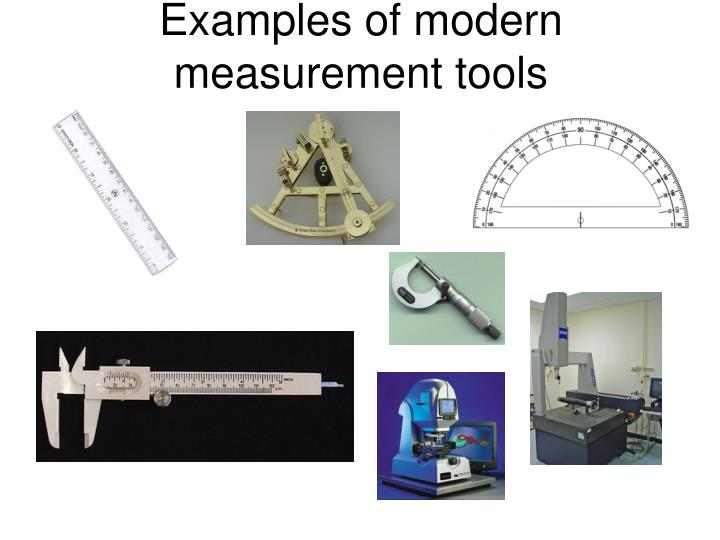 Examples Of Measurement Instruments : Ppt a short history of measurement powerpoint