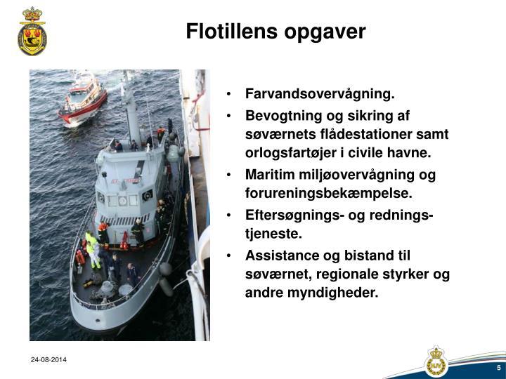 Flotillens opgaver