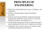 principles of engineering