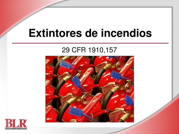 extintores de incendios n.