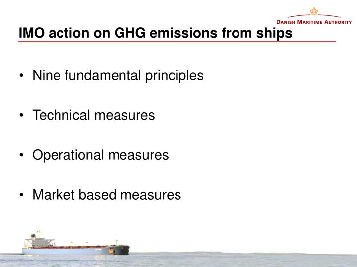 Imo action on ghg emissions from ships