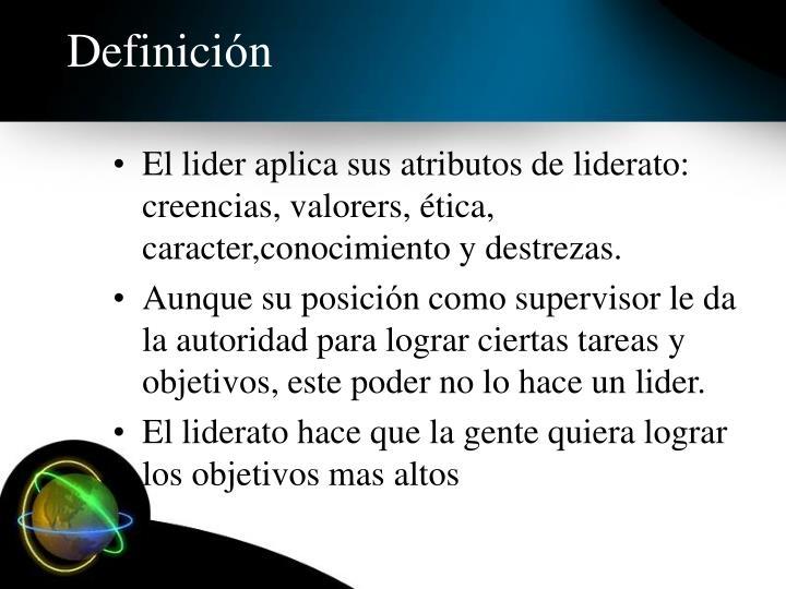 Definici