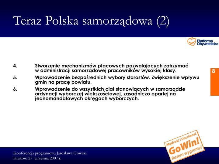 Teraz Polska samorządowa (2)