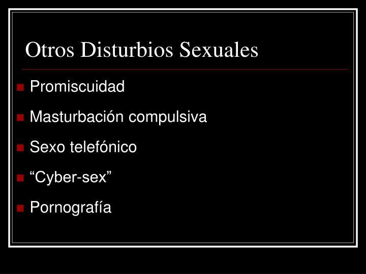 Otros Disturbios Sexuales