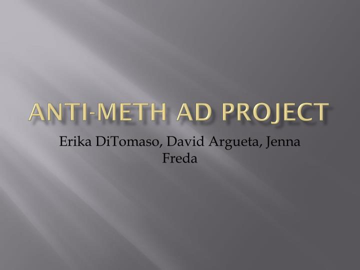 anti meth ad project n.