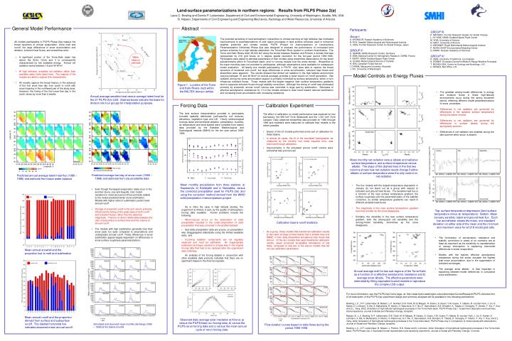 All models participating in PILPS Phase 2(e) capture the broad dynamics of annual evaporation, snow ...