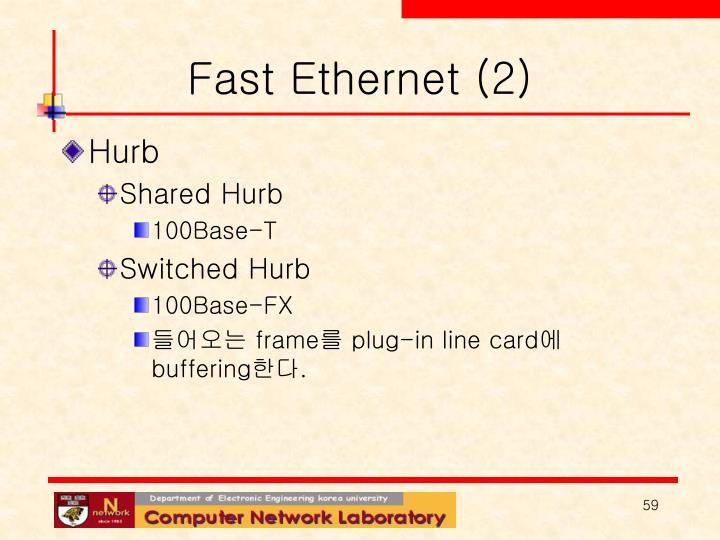 Fast Ethernet (2)