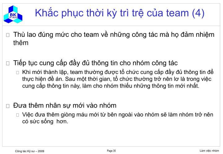 Khắc phục thời kỳ trì trệ của team (4)