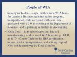people of wia