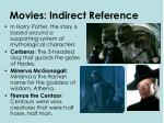 movies indirect reference1