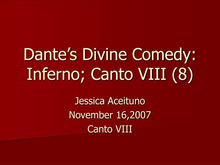 dante s divine comedy inferno canto viii 8 n.