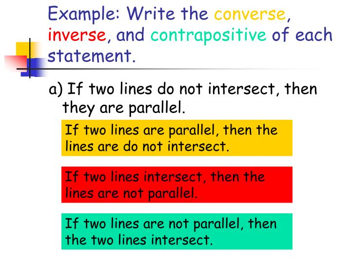 Ppt Inductive Reasoning And Conditional Statements Powerpoint