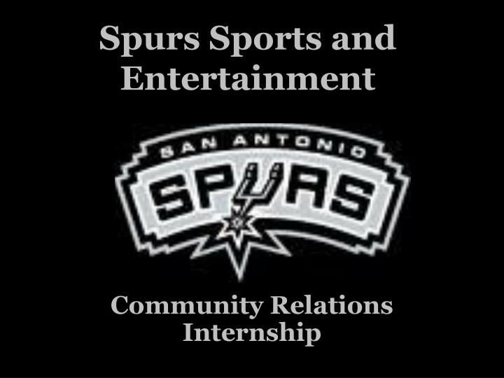 spurs sports and entertainment n.