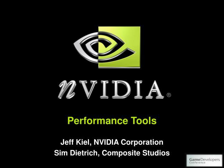 performance tools n.