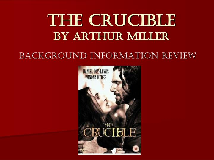 the crucible lust for power The unexplained hysteria in arthur miller's the crucible dritishri sarangi  assistant professor  kiit university   crucible is a play about a terrible period of american history of salem witchcraft  driven by the lust for power and sexual desire being an orphan and an unmarried girl, she tries to.