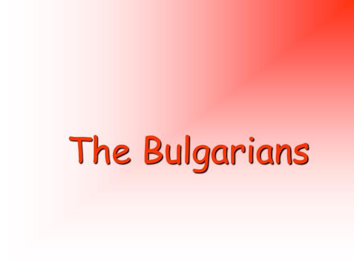 The Bulgarians