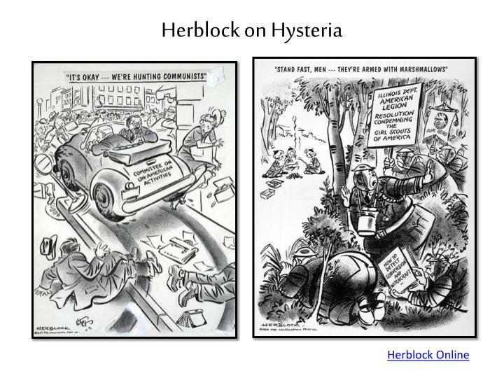 Herblock on Hysteria