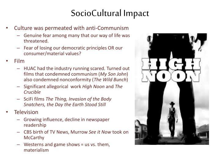 SocioCultural Impact