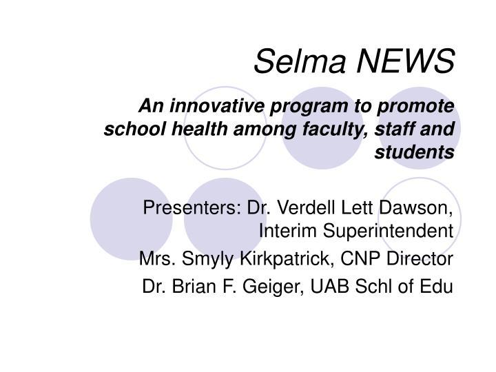 selma news n.