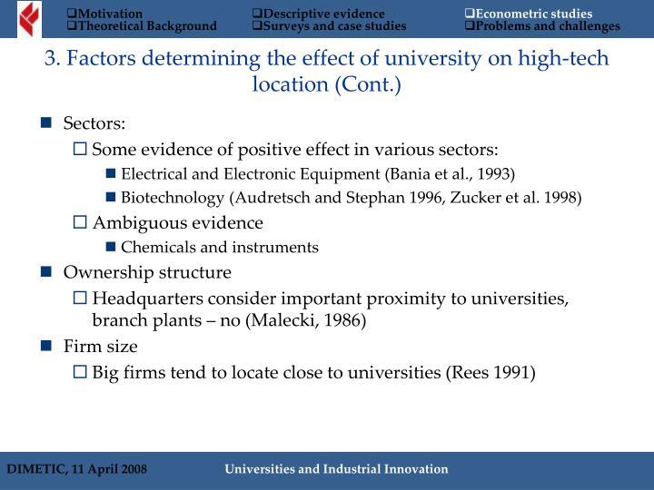 Sectors:
