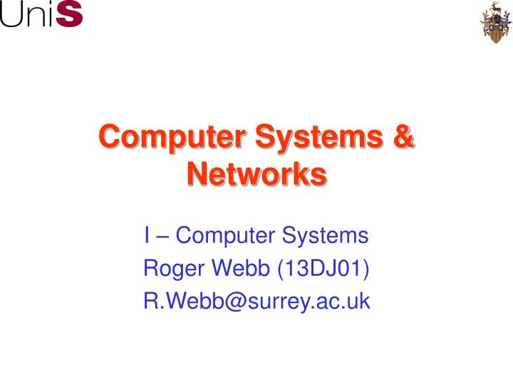 computer systems networks n.