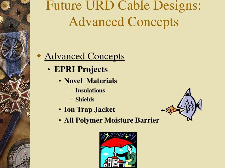 Future URD Cable Designs: Advanced Concepts