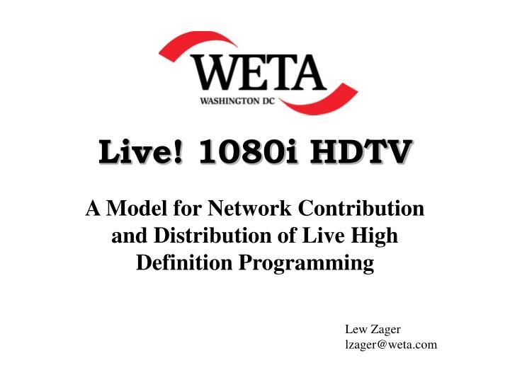 live 1080i hdtv n.