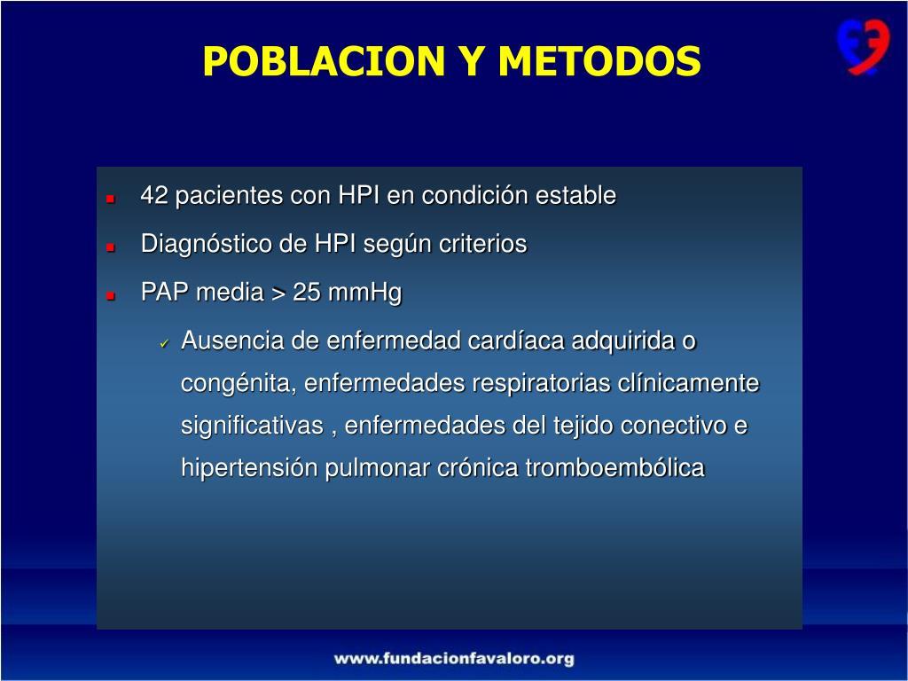Estratificación de riesgo tromboembólico de hipertensión